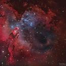 Eagle Nebula M16 HaLRGB,                                Göran Nilsson