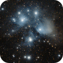 M45 (Pleiades) -- Nikon D5300 & 200 mm Telephoto lens,                                Nick Large