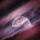Moon and clouds,                                Dan Watt