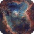 The Heart Nebula in SHO,                                Arun H.