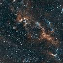 Veil Nebula Section, HOO,                                Stephen Garretson