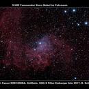 IC405 Flammender Stern Nebel im Fuhrmann,                                Berthold Schneider