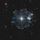 Cat's Eye Nebula: Halo - Rings - Core,                                Victor Van Puyenbroeck