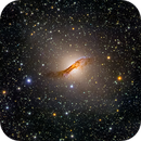 Centaurus A (NGC 5128) from Chile,                                Miles Zhou