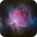 Look ma, no filter! The Great Orion Nebula in RGB OSC,                                Francesco Meschia