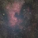 NGC 7000 North American Nebula Attempt #2,                                Evan Olson