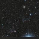 IC63 and IC59 - Ghost Nebula,                                pirx13