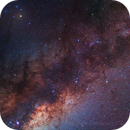 Milky Way (scorpius region) - New Processing,                                Delberson