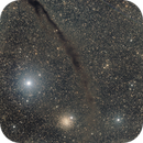 NGC 4372 and Dark Doodad Nebula (Nénuleuse obscure du petit bidule),                                Roger Bertuli