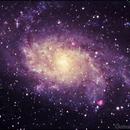 Triangulum Galaxy,                                andrealuna