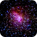 ic10  galassia irregolare in Cassiopea                             distanza  2 milioni 100 mila  A.L.,                                Carlo Colombo