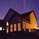Backyard Star Trails,                                drivingcat