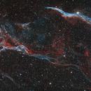 The Veil Nebula Mosaic,                                Fan