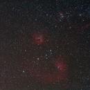 Ic410, ic405, M38,                                Benoit leguet