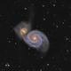M51-galaxie du tourbillon,                                astromat89