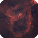 IC 1805 - Heart Nebula Bicolor,                                Mike Hislope