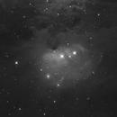 The Running Man Nebula, SH 2-279 (NGC 1977) in Ha,                                Madratter