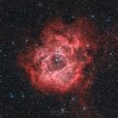 Rosette Nebula with Asi533mc-pro,                                Björn Hoffmann