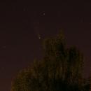 Komet C/2020 F3 Neowise (Einzelframe vom heimischen Balkon),                                astrobrandy
