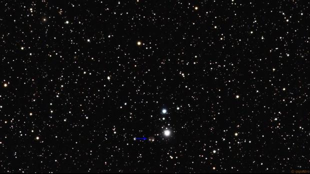Region of Arp 145 (peculiar galaxy south of NGC 891),                                gigiastro