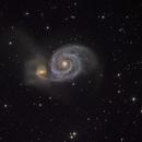 M51 LRGB,                                Niko Kivel
