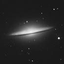 M104, the Sombrero galaxy,                                Exaxe