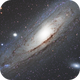 M31, The Andromeda Galaxy  with M32 and M110,                                Jay Hall