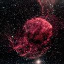 IC 443 - Jellyfish Nebula,                                Blackstar60