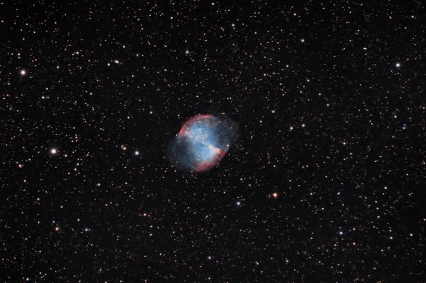 M27 Dumbbell Nebula,                                Ken Sharp