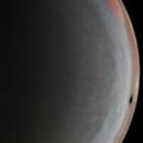 Jupiter polar map,                                Brian Ritchie