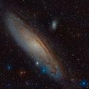M31 Galaxia de Andrómeda,                                Ernesto Arredondo