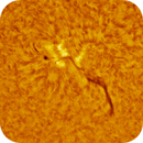 Sun - Ha - 08:00UT - 9 June 2020 - AR12765,                                Roberto Botero