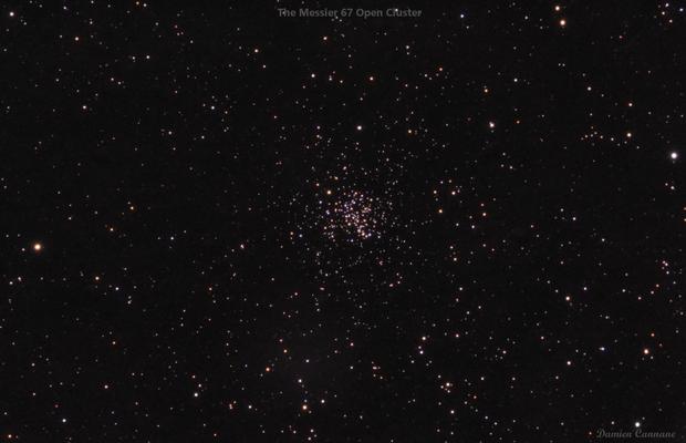 Messier 67 Widefield,                                Damien Cannane