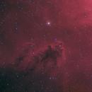 Bogeyman nebula LDN1622 from Bortle 8,                                Carastro