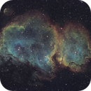 Trying get close to Hubble coloring on the Soul Nebula,                                Sven Hoffmann