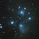 M 45 Pleiades, Taurus, 8 Novembre 2018,                                Ennio Rainaldi