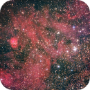 Sharpless 54 / LBN-72 and NGC-6604,                                Kevin Parker