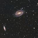 M81 M82 LRGB,                                Elboubou