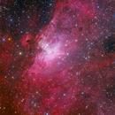 M16 Eagle Nebula in LRGB,                                Astro_m