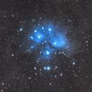 Pleiades open star cluster (Messier 45),                                Sasho Panov