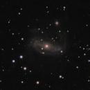 Seyfert type I galaxy UGC 3374 and its active black hole powered nucleus,                                lowenthalm