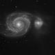 M51 - small telescope, high resolution,                                Romain Chauvet