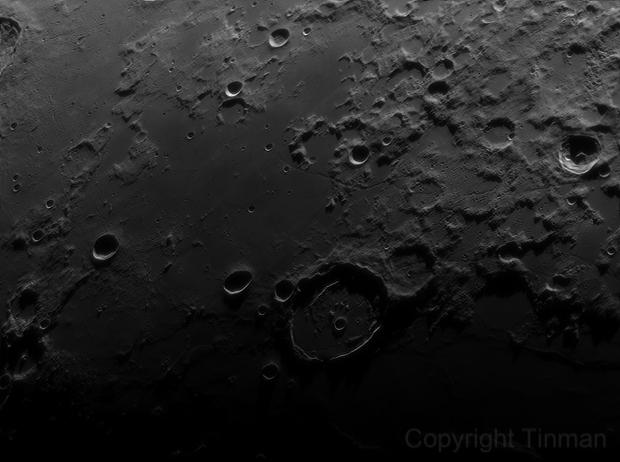 Moon  Posidonius Crater,                                Siegfried Friedl