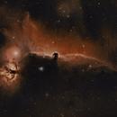 B33 Horsehead and NGC2024 Flame nebulae,                                Gary Plummer