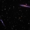Whale & Hockey Stick Galaxies,                                Ed Albin