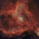 Heart Nebula(IC1805) in HOO Bicolor,                                Girish