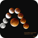 Harvest Moon Lunar Eclipse,                                sydney