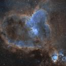 IC 1795 and IC 1805 - The Fish Head Nebula and the Heart Nebula - (SHO),                                Andrea Alessandrelli