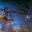 Milky Way Center & Antares,                                Björn Hoffmann