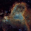 IC 1805 - Nébuleuse du Cœur - Heart Nebula,                                Pascal Bousquet